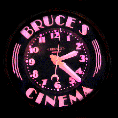 Bruce's Cinema, 14', custom glass